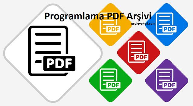 Programalam PDF Arşivi - C# - PHP - Python vb.