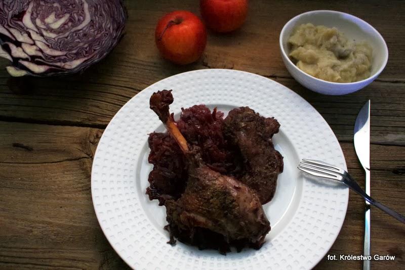 Blog O Gotowaniu Tradycyjna Kuchnia Udka Gęsi Pieczone W