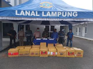 TNI AL Gagalkan Penyelundupan Baby Lobster