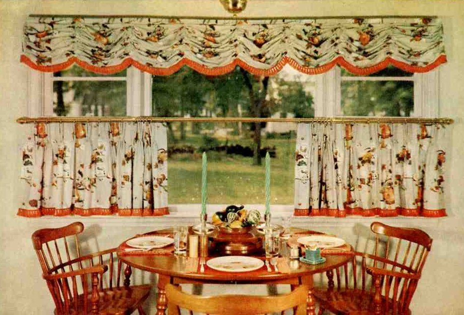 The Breakfast Nook Of An Early American Style Kitchen Source