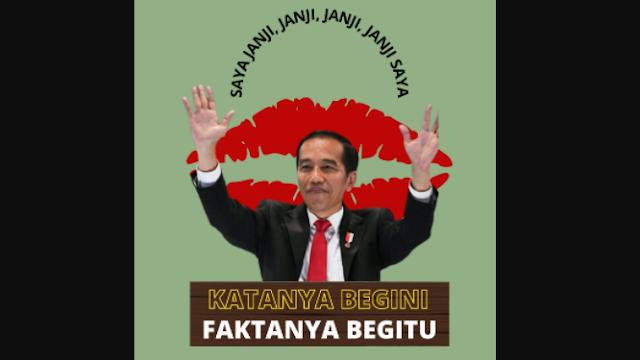 BEM YARSI Ungkit Janji-Janji Jokowi: Katanya Begini, Faktanya Begitu!