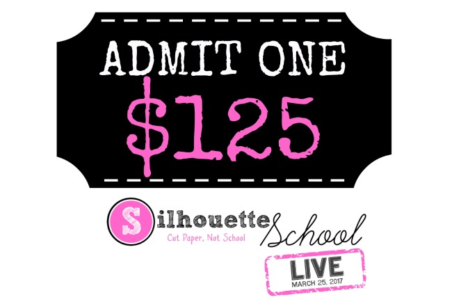 e184d15ede0da Tickets and Time Are Running Out for Silhouette School LIVE Workshop ...