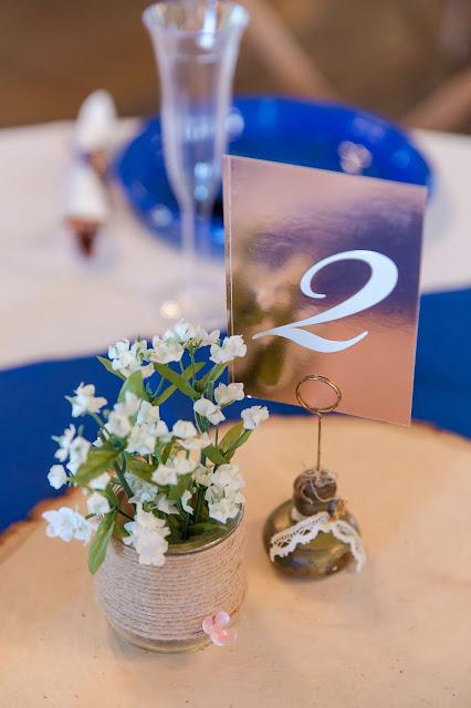 Shenandoah Mill Gilbert AZ Wedding Table Decor