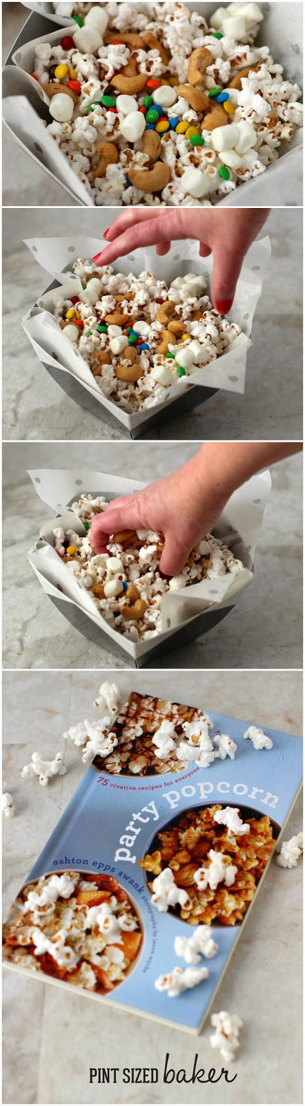 Dig in to a big bowl of popcorn! Sweet and Salty Popcorn for the win for your next snack attack!