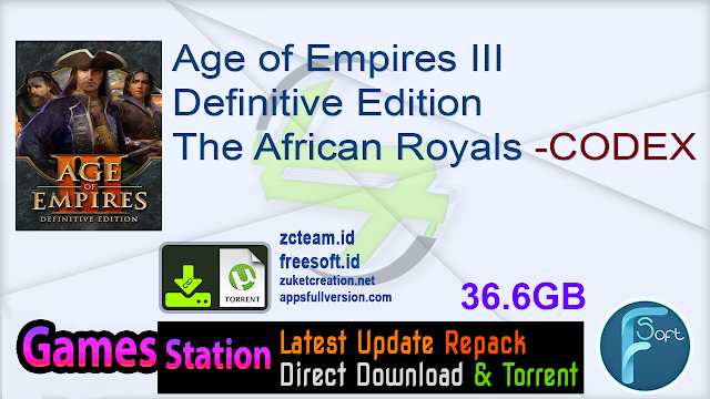 Age of Empires III Definitive Edition The African Royals -CODEX