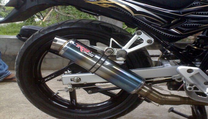 Ketahuilah Efek Knalpot Racing Bila Digunakan Pada Motor Standart