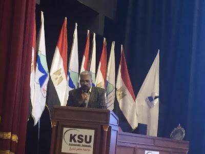 رئيس رابطة الصحفيين بكفرالشيخ فى تكريم الدكتور ماجد القمرى : التاريخ سيذكركم بحروف من ذهب