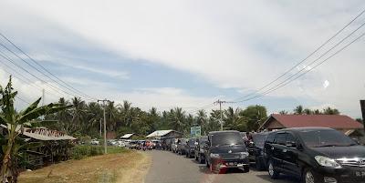 Simpang Elak Banda Baro Padat Merayap