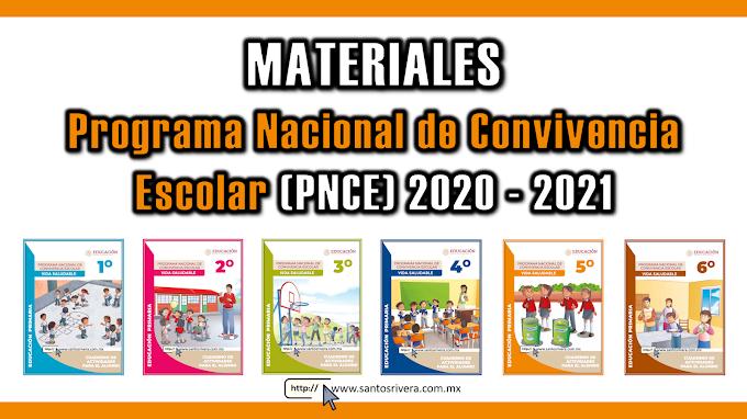Materiales del Programa Nacional de Convivencia Escolar 2020 - 2021