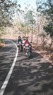 Salah Patu Pantai Camping Asik GunungKidul Yogyakarta - Pantai Grigak