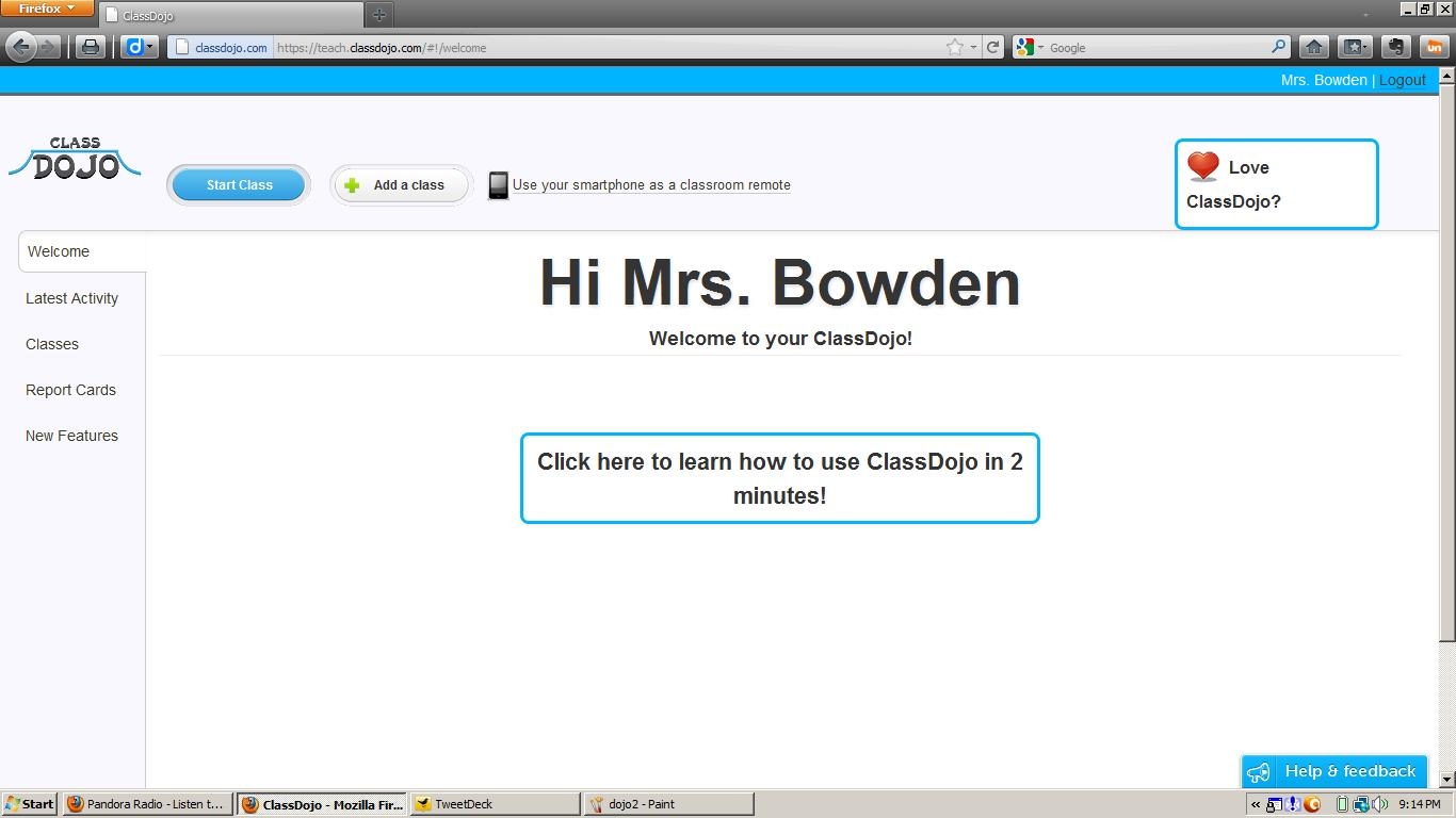 Mrs. B's Techno-Teaching: Sites I Use: Class Dojo (@Classdojo)