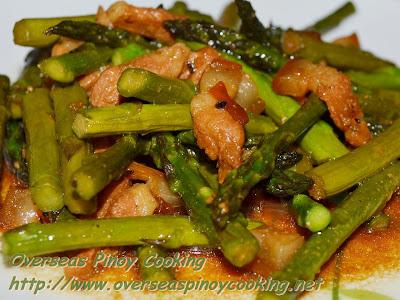 Adobong Asparagus