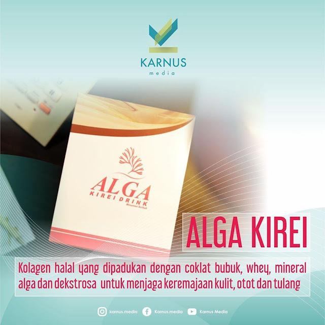 Alga Kirei Minuman collagen Halal