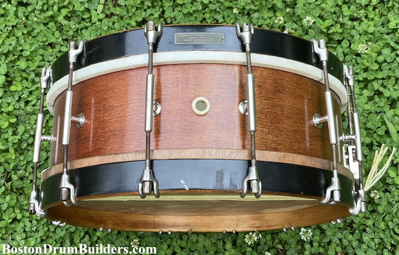 1910s Charles A. Stromberg Invincible Orchestra Drum