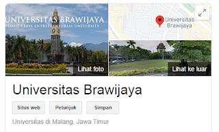 Peluang masuk snmptn Universitas Brawijaya 2020/2021 {SNMPTN UB}