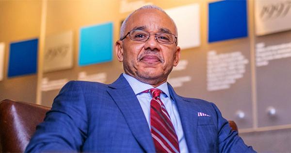 Dr. Brent Chrite, first Black president of Bentley University