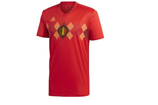 Jersey Belgia Home Piala Dunia 2018
