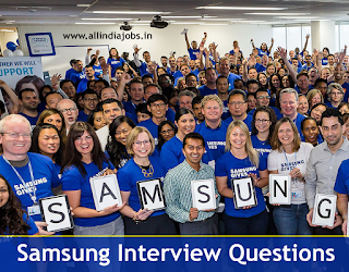 Samsung Interview Questions