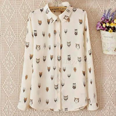 Owl shirt eBay