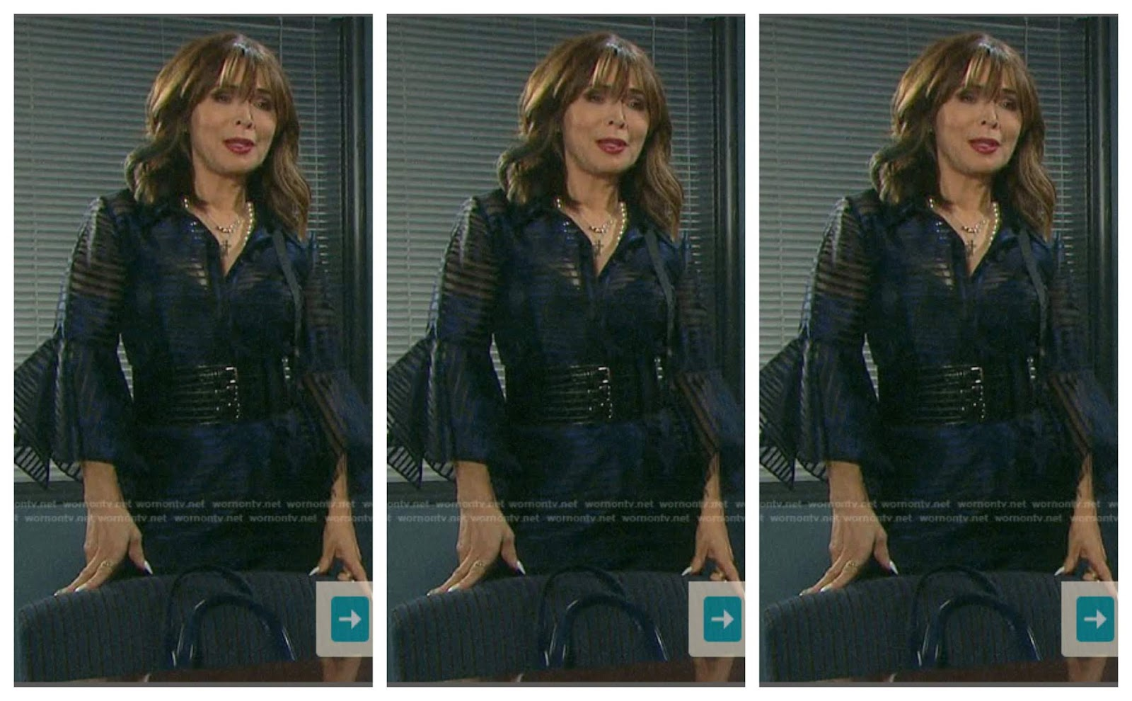 Best Dressed Star Of The Week Days Of Our Lives Lauren Koslow Soap Opera News She also portrayed the role of lindsey wells on cbs soap opera, the young and the restless, from 1984 to 1986. days of our lives lauren koslow