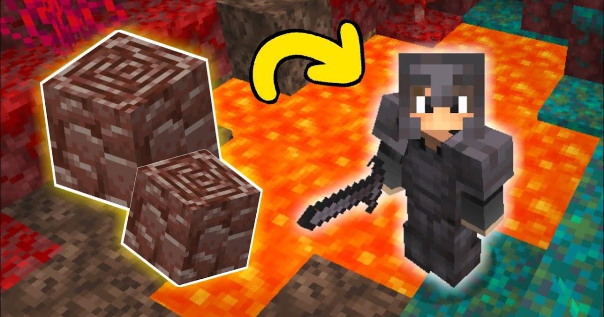 Cara Membuat Armor & Weapon Netherite di Minecraft 1.16