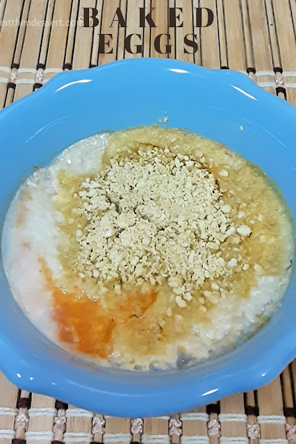 Toaster Oven Baked Eggs - Veggies First Then Dessert #MulticookerMonday