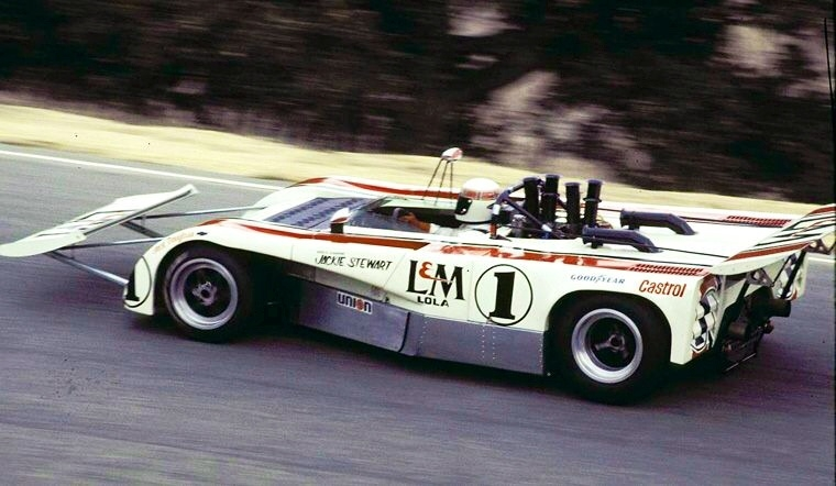 The Cow Catcher On 1971 Lola Of Jackie
