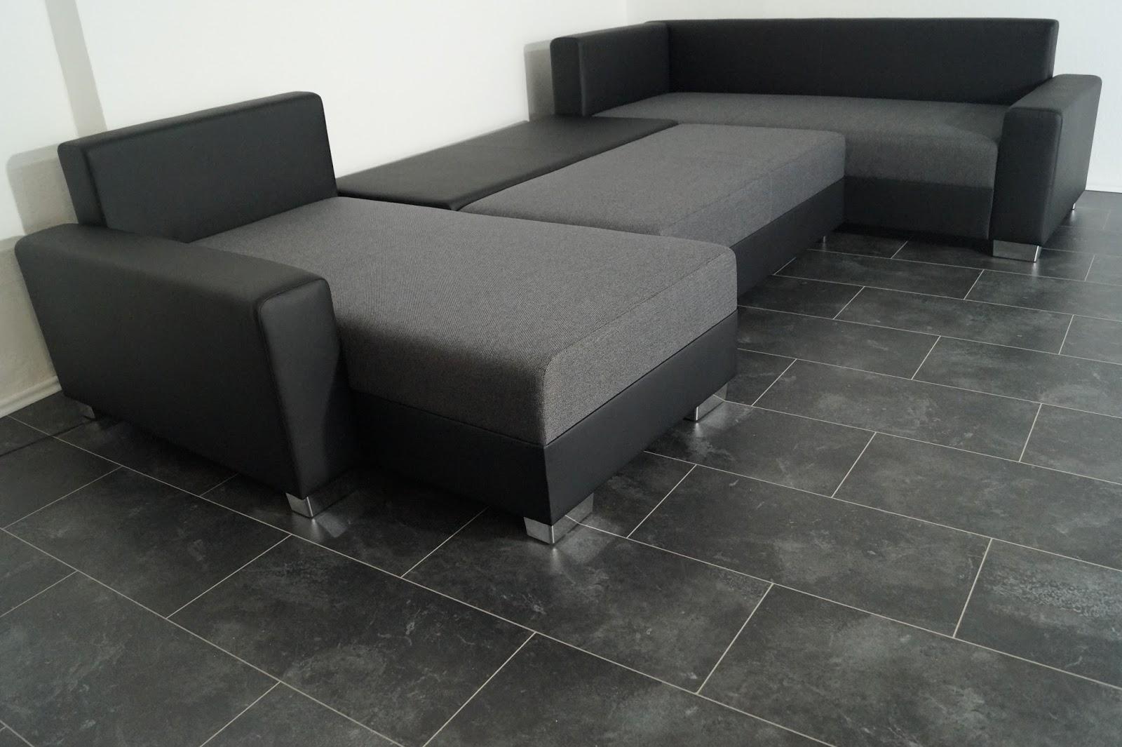 u sofa bettsofa wohnlandschaft 330 cm breit stellma e. Black Bedroom Furniture Sets. Home Design Ideas
