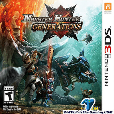 Download Monster Hunter Generations 3DS Decrypted ROM for Citra Emulator | PrizMa Gaming