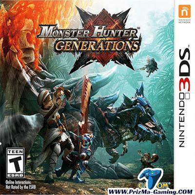 Monster Hunter Generations Decrypted ROM