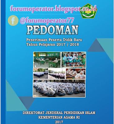 Juknis dan Jadwal Pelaksanaan PPDB Tahun 2017/2018