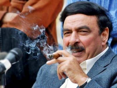 railway minister of Pakistan is Sheikh Rashid Ahmed