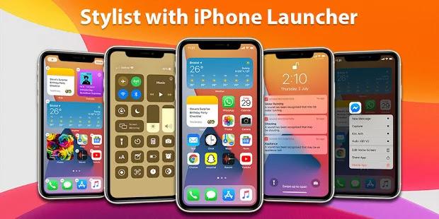 تنزيل Launcher iPhone  تطبيق iPhone 12 launcher لنظام الاندرويد