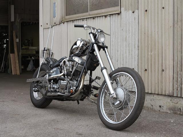Harley Davidson Shovelhead 1971 By Green Motorcycles Hell Kustom