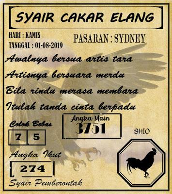 SYAIR SYDNEY 01-08-2019