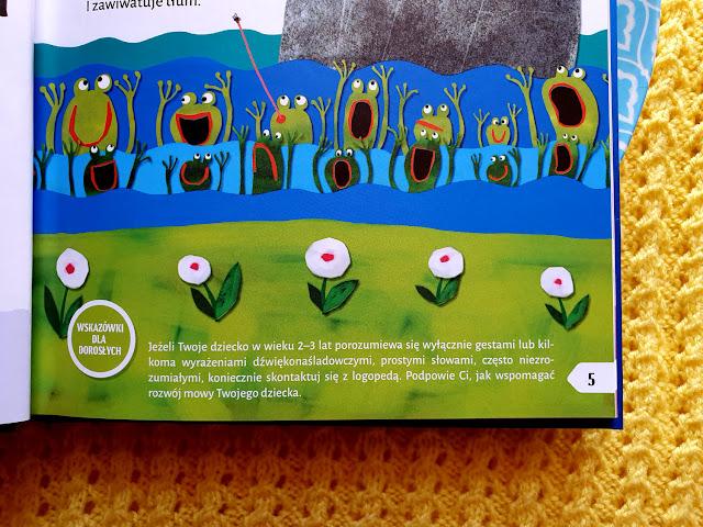 Jama gębowa ćwiczy słowa - wiersze logopedyczne dla dzieci - Wydawnictwo GREG - Ładnie i składnie - książki logopedyczne - książki onomatopeiczne - książki dźwiękonaśladowcze wspierające mowę - Urszula Kamińska - Aleksandra Jastrzębowska-Jasińska