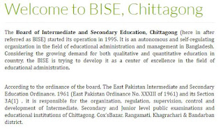 Chittagong education board
