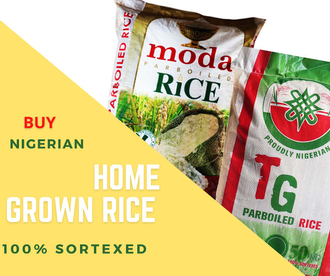 Nigerian Parboiled Rice Without Stone And 100% Sortexed
