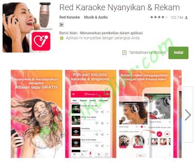 Aplikasi  karaoke  untuk hp android gratis apk