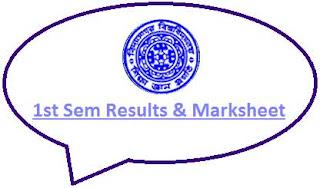Vidyasagar University 1st Sem Result 2020