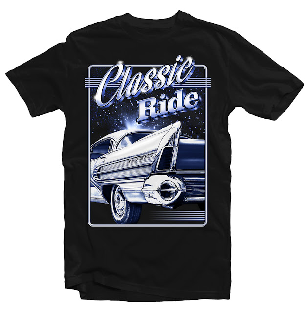 custom t shirts classic ride