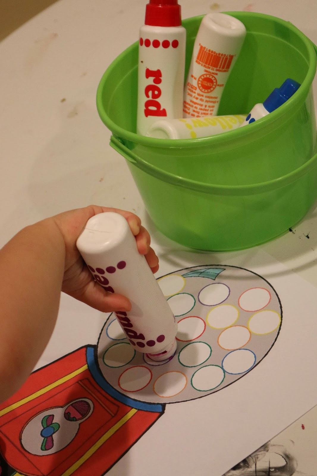 Letter G Toddler Activities