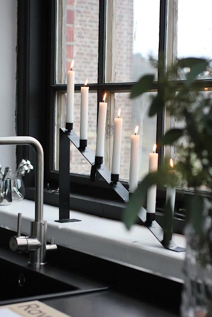 annelies design, webbutik, webshop, nätbutik, inredning, dekoration, advent, jul, julen, julpynt, ljusstake, ljusstkar, kronljus, stearinljus, ljus,