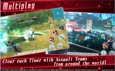 Sword Art Online Integral Factor APK MOD English v1.0.2 Free Android - JemberSantri