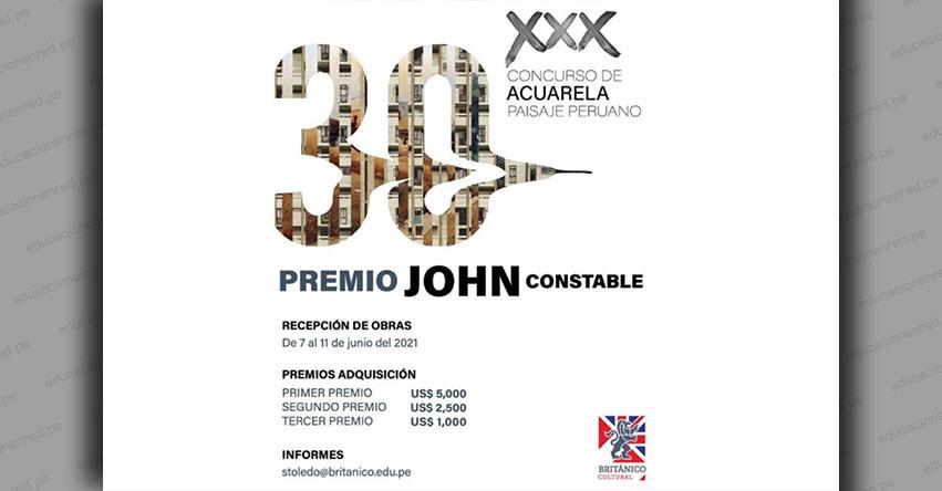 Convocatoria para Concurso de Acuarela «Paisaje Peruano: Premio John Constable»