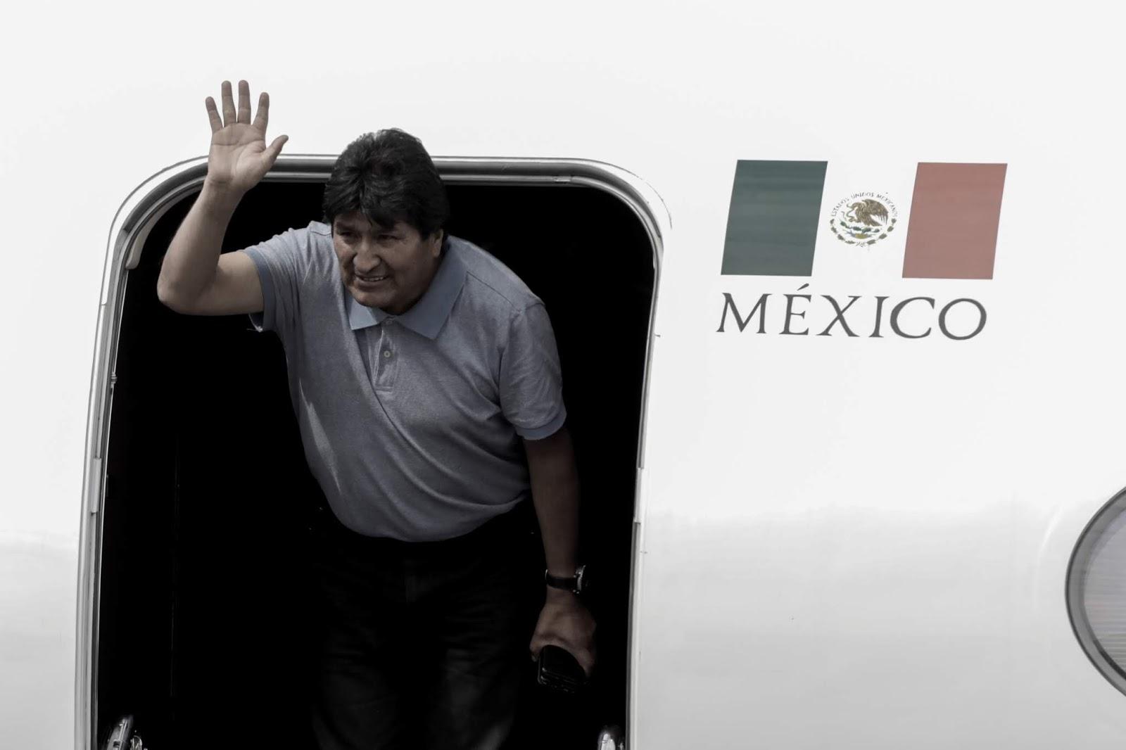 Desde su arribo a México, como asilado de AMLO, Morales insiste en victimizarse ante el mundo / REUTERS