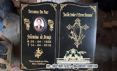Nisan Kristen Model Buku, Harga Nisan Model Buku
