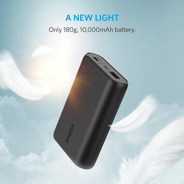 マウスと同じサイズで容量10000mAh!!モバイルバッテリー業界で話題のAnker PowerCore 10000がすごくいい。