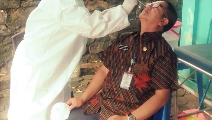 500 Orang Yang Terlibat Dalam Perhelatan MTQ XV Tingkat Kota Tanjungpinang Menjalani Rapid Test Antigen