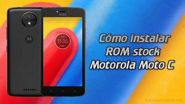 Flashear Motorola Moto C